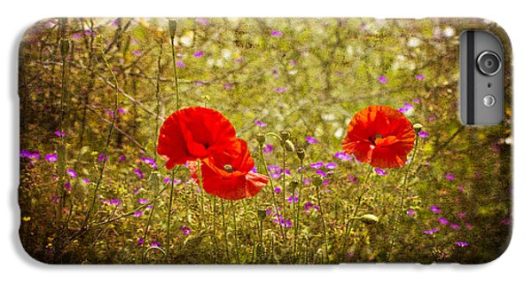 IPhone 6 Plus Case featuring the photograph English Summer Meadow. by Clare Bambers - Bambers Images