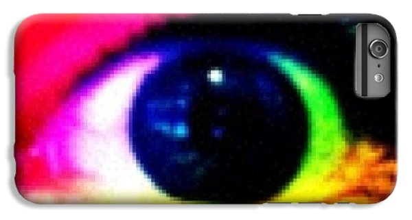 Bright iPhone 6 Plus Case - Eye by Lea Ward