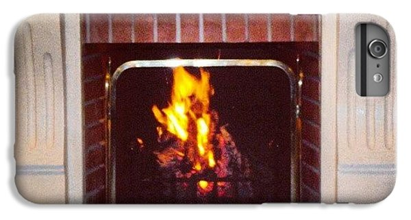 #fire #fireplace #classic #igaddict IPhone 6 Plus Case