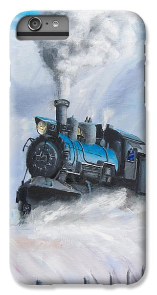 Train iPhone 6 Plus Case - First Train Through by Christopher Jenkins