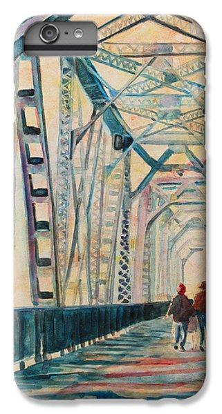 Foggy Morning On The Railway Bridge IIi IPhone 6 Plus Case by Jenny Armitage