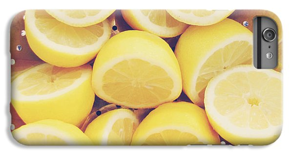 Fresh Lemons IPhone 6 Plus Case by Amy Tyler
