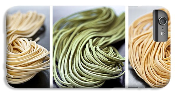 Fresh Tagliolini Pasta IPhone 6 Plus Case by Elena Elisseeva