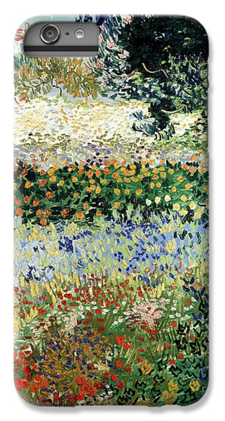 Garden Snake iPhone 6 Plus Case - Garden In Bloom by Vincent Van Gogh