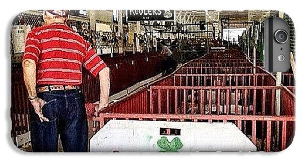 Ohio iPhone 6 Plus Case - Gramps In The Swine Barn by Natasha Marco