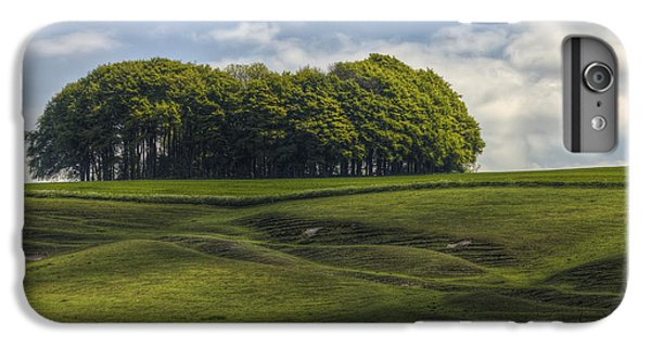 IPhone 6 Plus Case featuring the photograph Hackpen Hill by Clare Bambers