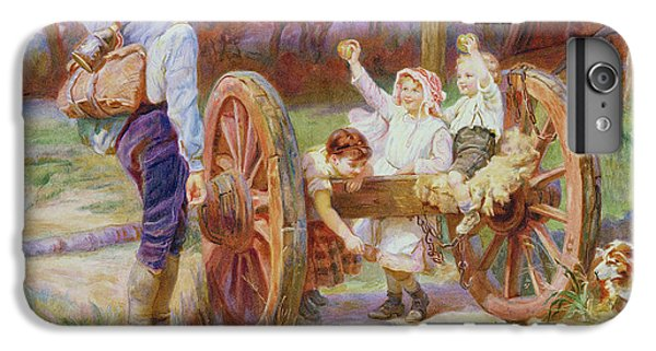 Happy As The Days Are Long IPhone 6 Plus Case by Frederick Morgan
