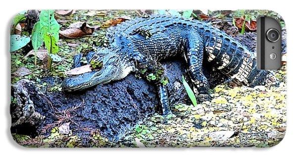 Hard Day In The Swamp - Digital Art IPhone 6 Plus Case by Carol Groenen