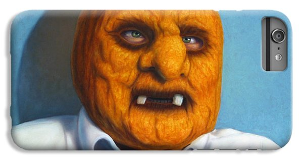 Heavy Vegetable-head IPhone 6 Plus Case by James W Johnson