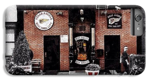 Instagramhub iPhone 6 Plus Case - Hells Angels Nyc by Natasha Marco