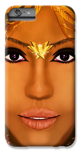Jessica Alba Fairy Tale IPhone 6 Plus Case by Mathieu Lalonde