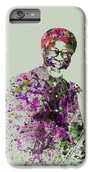 Saxophone iPhone 6 Plus Case - Joe Henderson Watercolor  by Naxart Studio