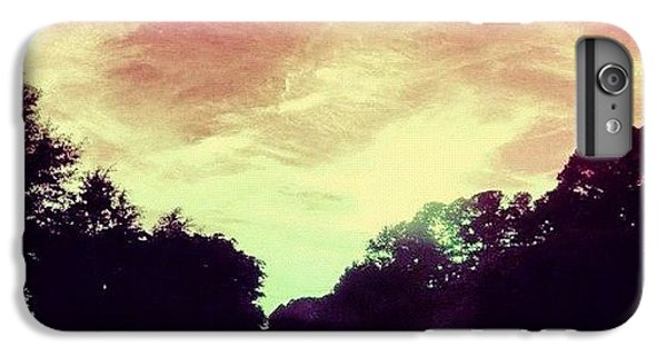Summer iPhone 6 Plus Case - #justdriving #colourful #sky #road by Katie Williams