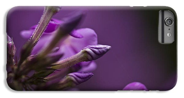 IPhone 6 Plus Case featuring the photograph Lilac Spirals. by Clare Bambers