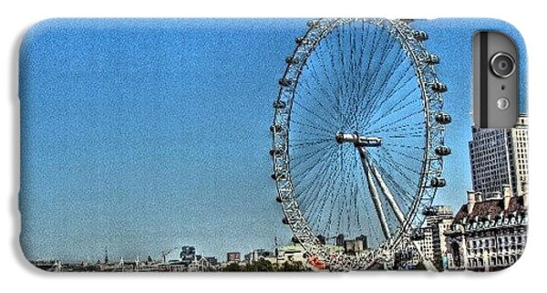 London iPhone 6 Plus Case - London Eye, #london #londoneye by Abdelrahman Alawwad