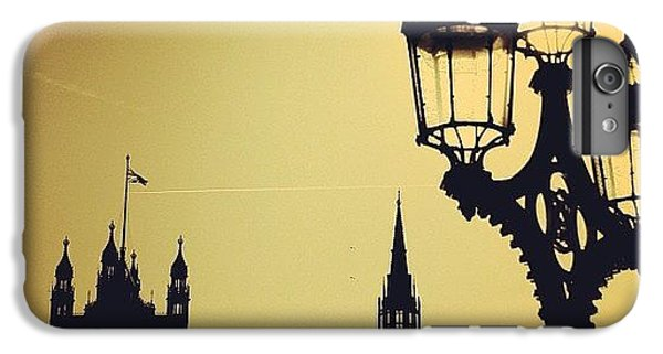 London iPhone 6 Plus Case - #london #westminster #londoneye #siluet by Ozan Goren