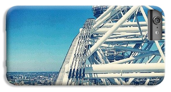 #londoneye #sky #clouds #high #london IPhone 6 Plus Case