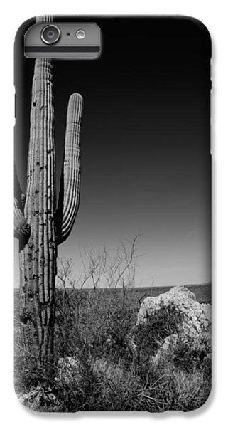 Nature Trail iPhone 6 Plus Case - Lone Saguaro by Chad Dutson