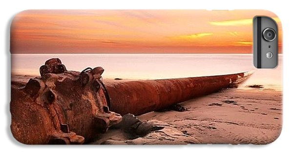 Long Exposure Sunset At Cardiff State IPhone 6 Plus Case