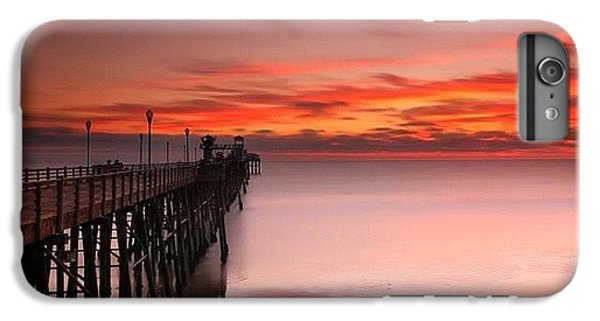 Long Exposure Sunset At The Oceanside IPhone 6 Plus Case