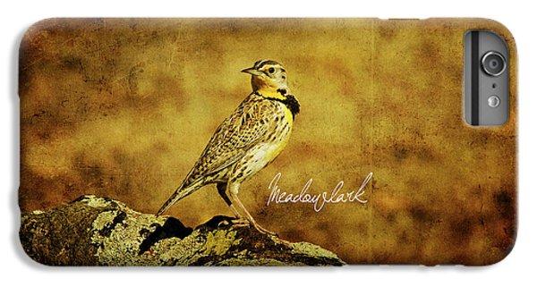 Meadowlark IPhone 6 Plus Case by Lana Trussell