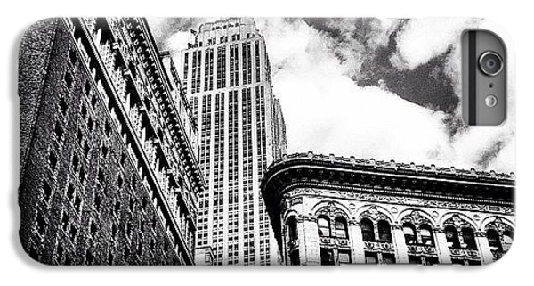 New York City - Empire State Building And Clouds IPhone 6 Plus Case