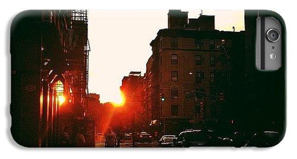 New York City Sunset IPhone 6 Plus Case