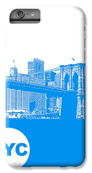Central Park iPhone 6 Plus Case - New York Poster by Naxart Studio