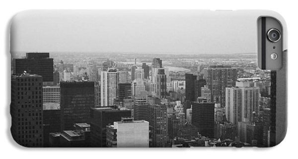 Nyc From The Top 3 IPhone 6 Plus Case by Naxart Studio
