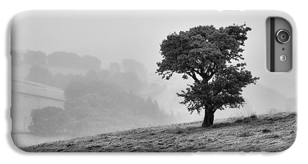 IPhone 6 Plus Case featuring the photograph Oak Tree In The Mist. by Clare Bambers