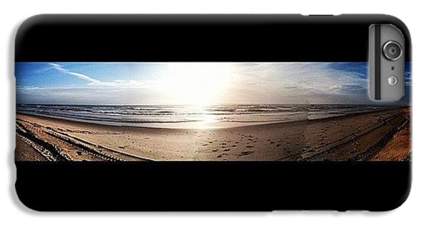 Bright iPhone 6 Plus Case - Panoramic Picture Of The Sunrise by Lea Ward