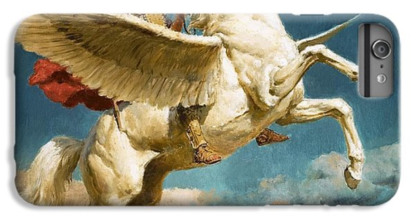 Pegasus The Winged Horse IPhone 6 Plus Case by Fortunino Matania