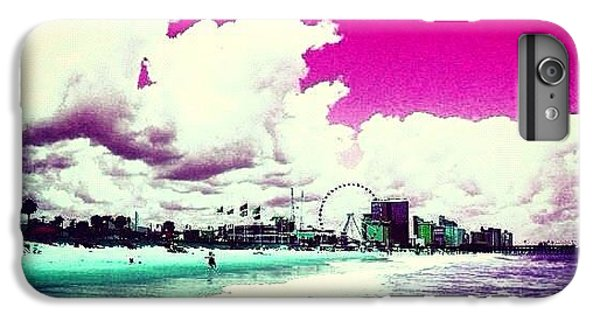 Summer iPhone 6 Plus Case - Pic Redo #beach #summer #prettycolors by Katie Williams