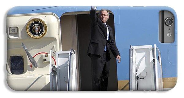 President George Bush Waves Good-bye IPhone 6 Plus Case by Stocktrek Images