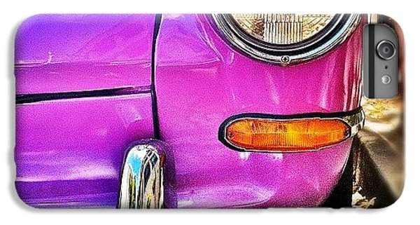 Purple Vw Bug IPhone 6 Plus Case