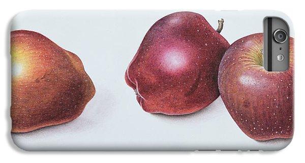 Red Apples IPhone 6 Plus Case by Margaret Ann Eden