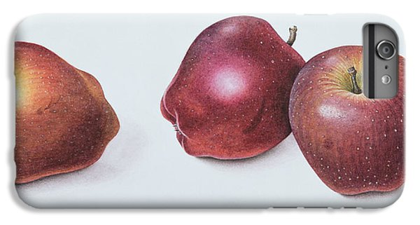 Red Apples IPhone 6 Plus Case by Margaret Ann Eden