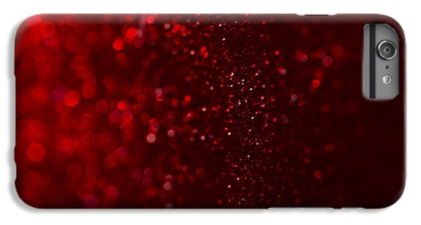 Red Sparkle IPhone 6 Plus Case