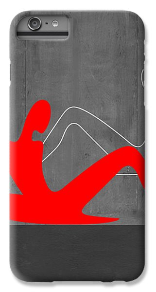 Figurative iPhone 6 Plus Case - Relaxation by Naxart Studio