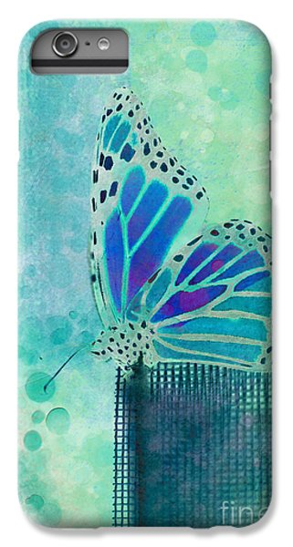 Butterfly iPhone 6 Plus Case - Reve De Papillon - S02b by Variance Collections