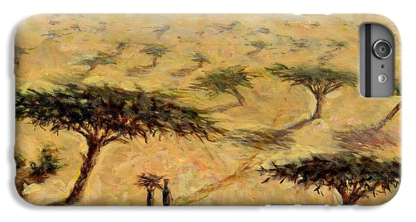 Barren iPhone 6 Plus Case - Sahelian Landscape by Tilly Willis