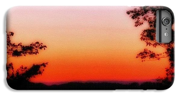 Edit iPhone 6 Plus Case - Soft Sunset In The Smokies by Mari Posa