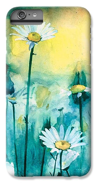 Splash Of Daisies IPhone 6 Plus Case by Cyndi Brewer