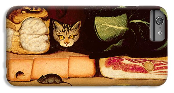 Still Life With Cat And Mouse IPhone 6 Plus Case by Anonymous