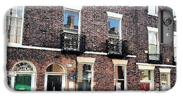 Classic iPhone 6 Plus Case - #street #houses #liverpool #buildings by Abdelrahman Alawwad