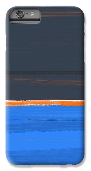 Stripe Orange IPhone 6 Plus Case