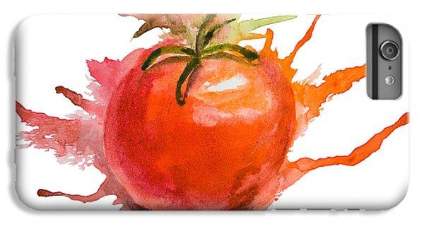 Stylized Illustration Of Tomato IPhone 6 Plus Case