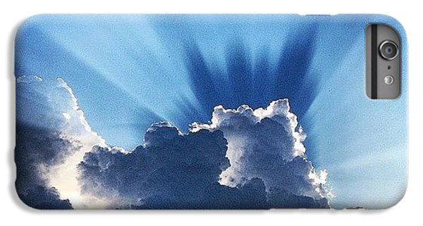 #sunset #clouds #weather #rays #light IPhone 6 Plus Case