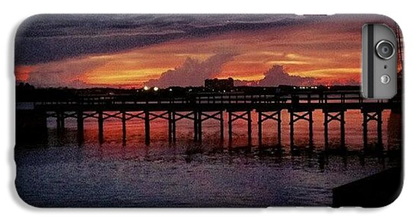 Summer iPhone 6 Plus Case - #sunset #dock #awesome #doubletap by Mandy Shupp