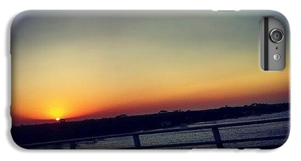 #sunset #rainbow #cool #bridge #driving IPhone 6 Plus Case